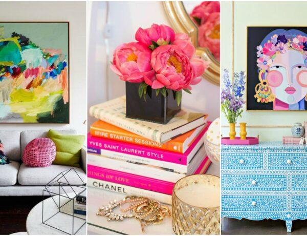 Így dekorálj élénk színekkel a lakásodban