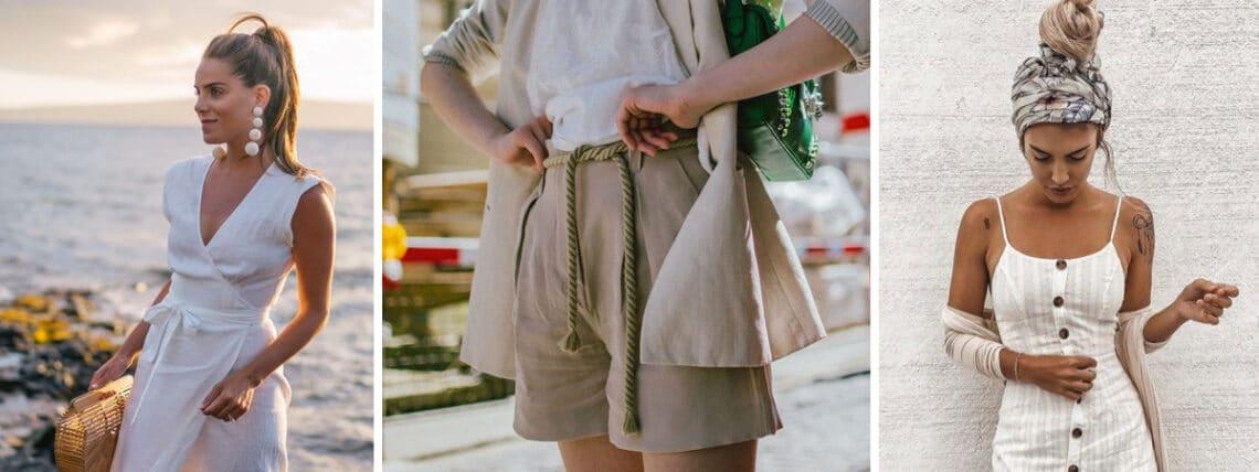 Így hordd a lenvászon ruhadarabokat – Szuper kánikula outfitek