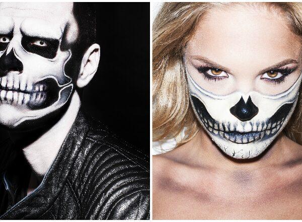 Így készíthetsz ijesztő koponya arcfestést Halloweenra!