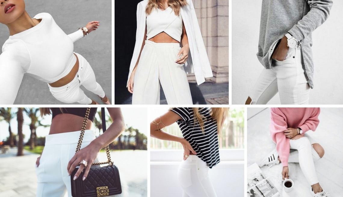Így már tényleg érdemes a fehér nadrágot hordani