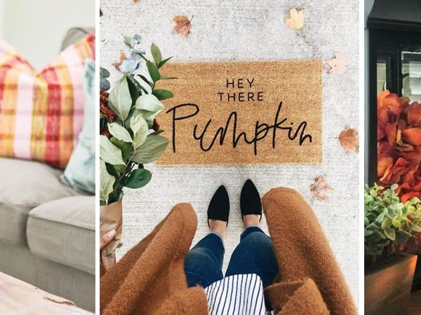 Így teremts őszi hangulatot otthon – Gyönyörű őszi textilek az előszobától a hálószobáig