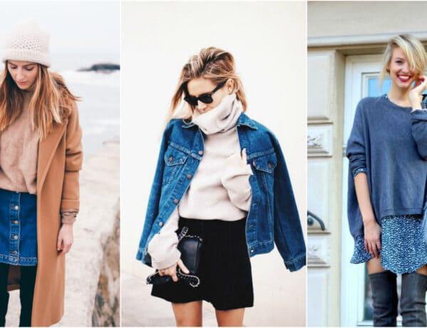 Így viseld a kedvenc szoknyád a hideg időben