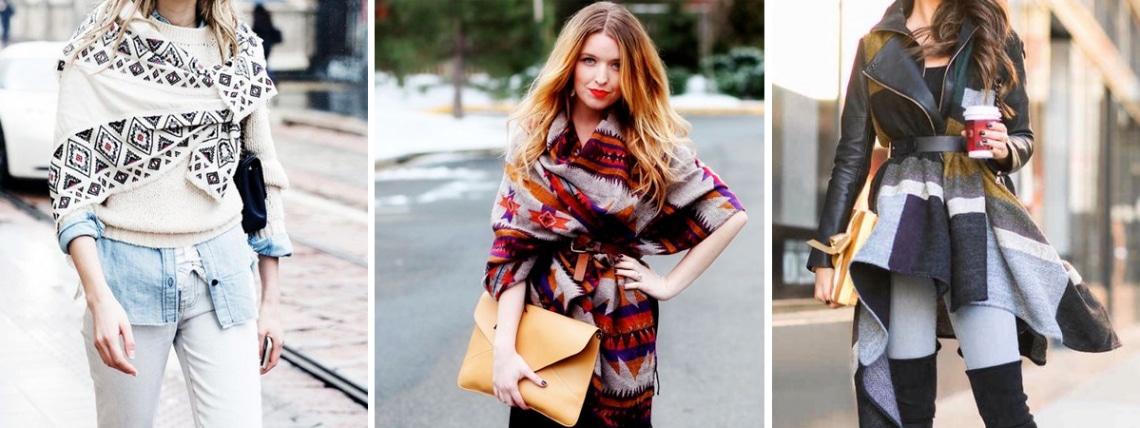 Így viseld idén ősszel a stólát – kabát helyett is!