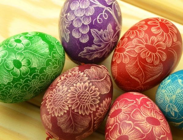 Öt elronthatatlan tojásfestési technika húsvétra