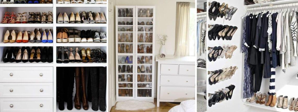 5 ötletes cipőtároló megoldás, ha nálatok is kevés a hely