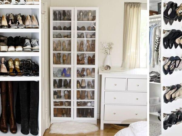5 ötletes cipőtároló megoldás, ha nálatok is nagyon kevés a hely