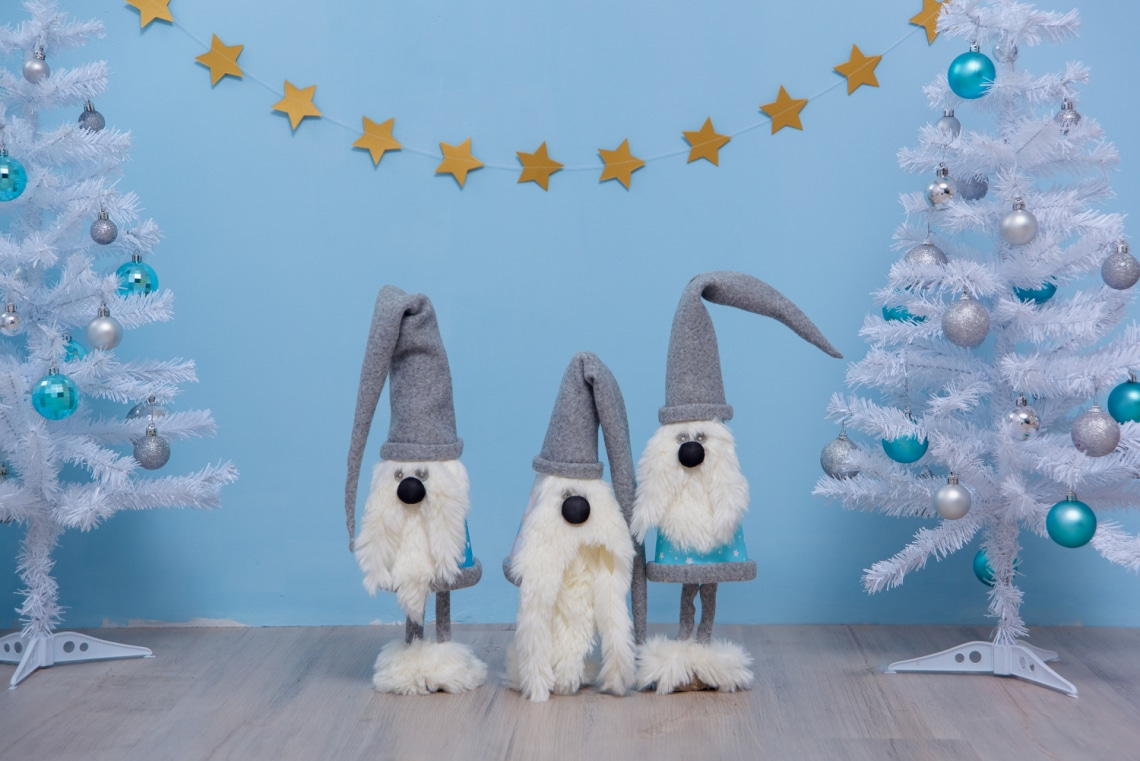 Über cuki karácsonyi manó, lépésről lépésre