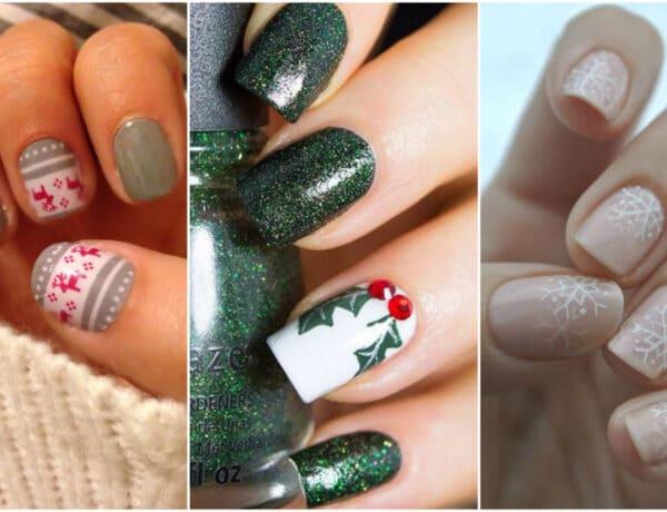 Ünnepi díszítés a körmökön is – A legszebb karácsonyi manikűrök
