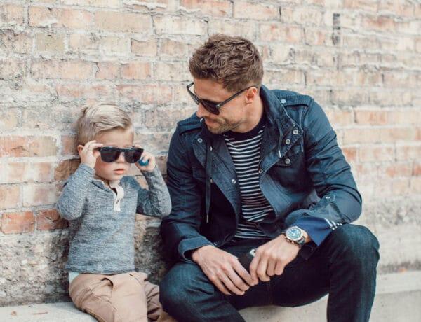 """""""De jó, hogy apa is fiú!"""" – Az apa-fia pillanatok szépségei"""