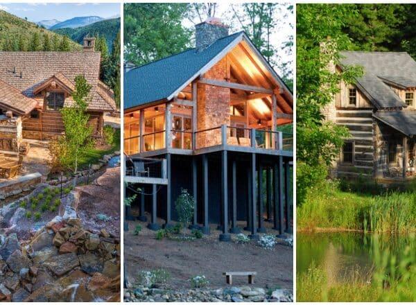 """""""Vissza a természetbe"""" otthonok – Különleges farönk házak és organikus lakások"""