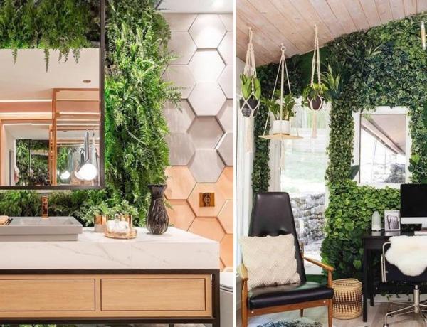 Élő növényfalak a lakásban? 7 káprázatos megoldás