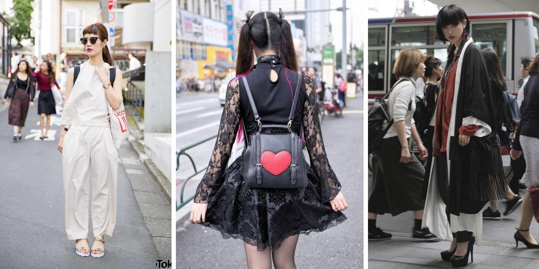 Így öltöznek a tokiói nők – japán street fashion