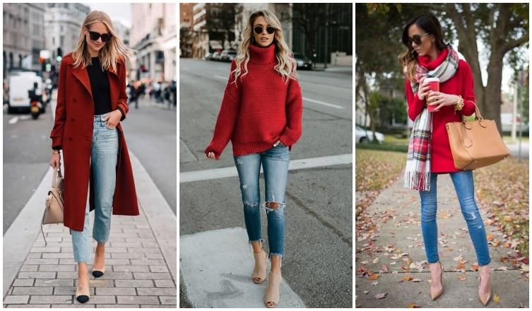 Így hordd januárban is a pirosat anélkül, hogy túl ünnepélyes lennél