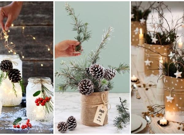 Így készíthetsz karácsonyi dekorációkat hétköznapi tárgyakból – olcsóak és pofonegyszerűek