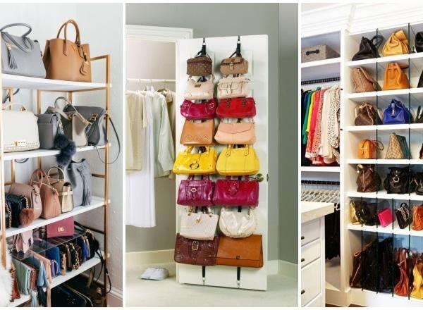 Így tárold méltó helyen a kedvenc táskáidat
