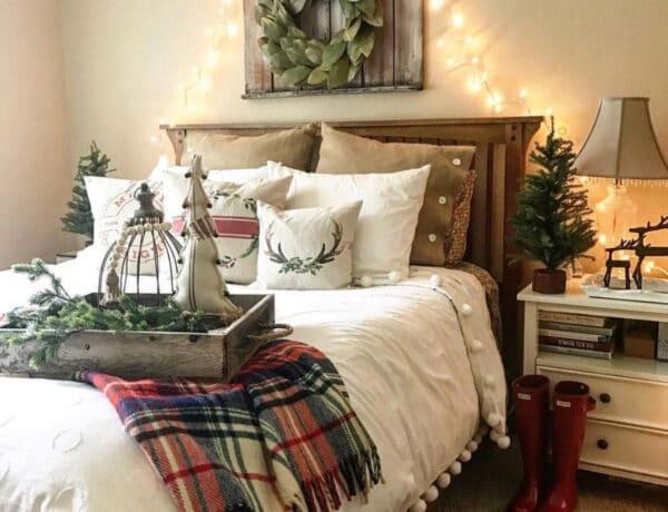 Így varázsold Karácsonyi hangulatúvá a hálószobád