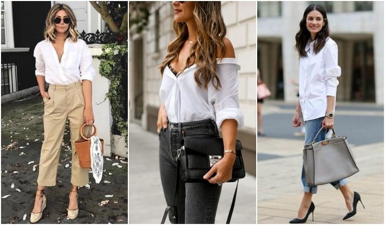 Így viseld idén ősszel a fehér ingedet! Inspiráló szettek