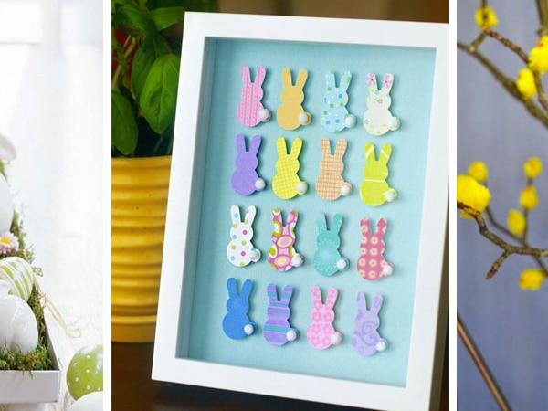 10 csodálatos húsvéti dekoráció, ami tavaszt varázsol az otthonodba
