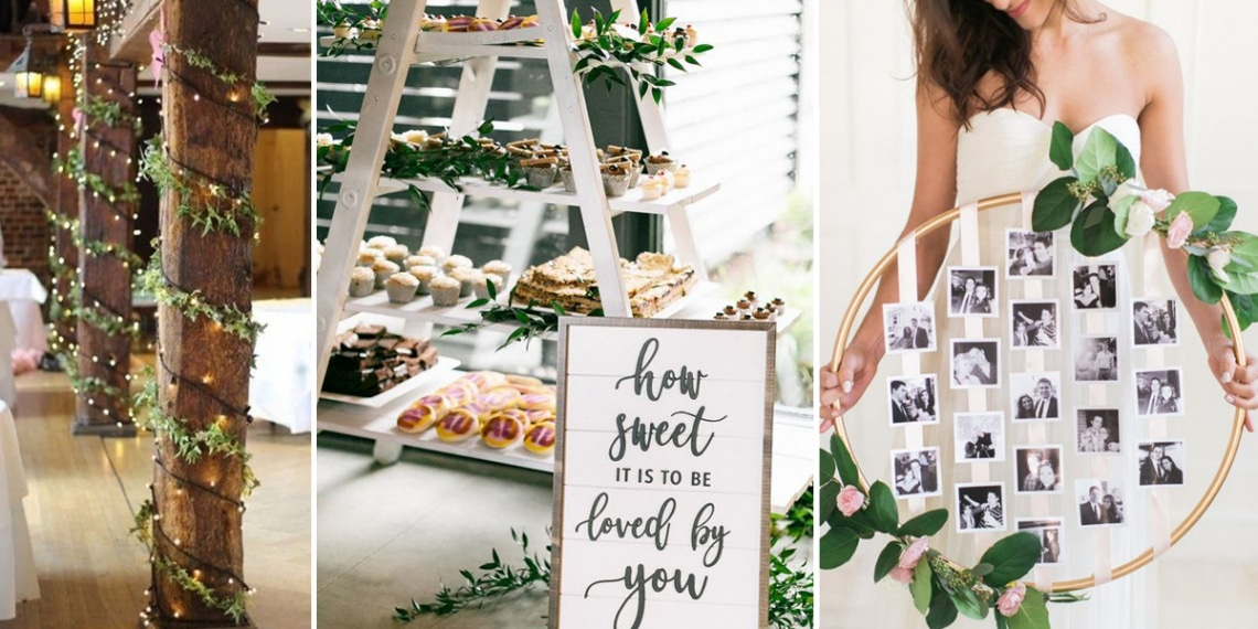 10 káprázatos esküvői dekoráció kevés pénzből