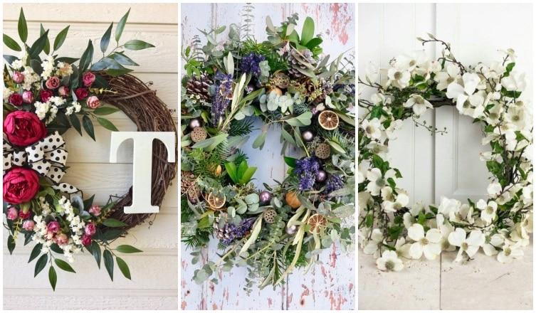 5 elegáns és gyönyörű ajtódísz tavaszra