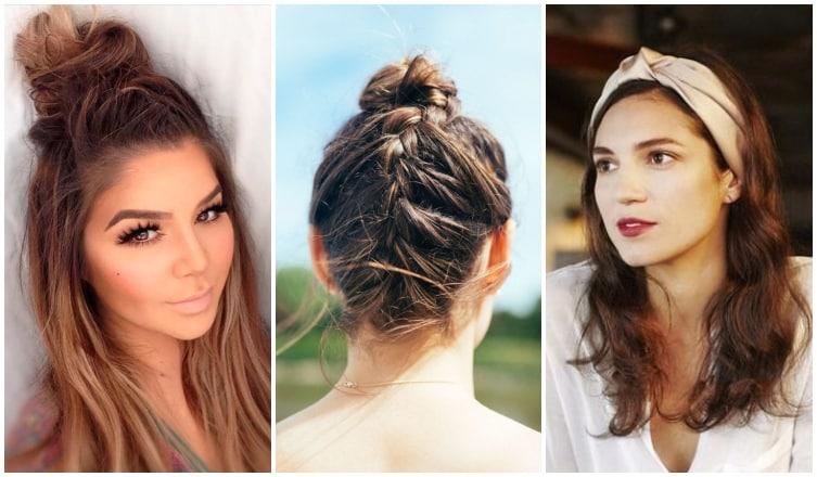5 menő frizuratipp, ha nem volt időd hajat mosni