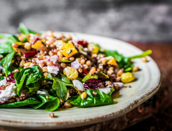 5 mennyei őszi saláta, ha kell most a vitamin