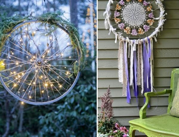 5+1 meseszép dekoráció, amit egy régi biciklikerékből készíthetsz el