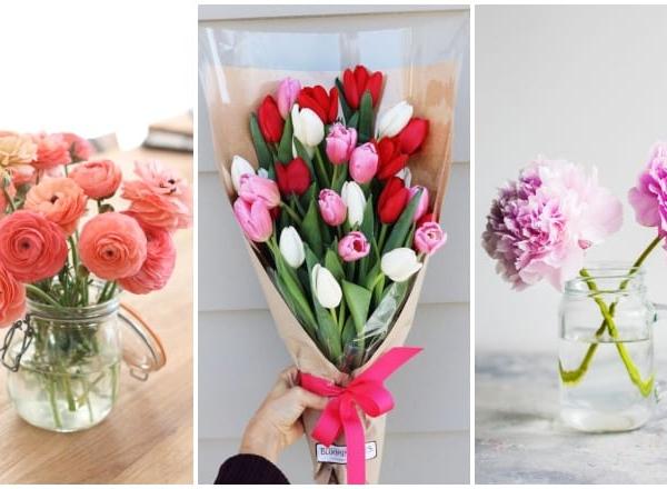 5+1 vágott virág, ami sokáig elél a vázában
