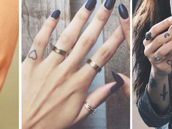 10 szuper ujj tetoválás, amit azonnal magadra akarsz majd varratni