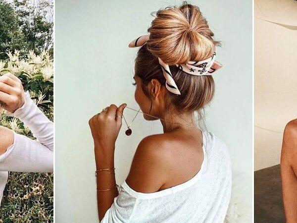 Ez lesz a nyár legtrendibb kiegészítője: így hordd a sálat a hajadban!