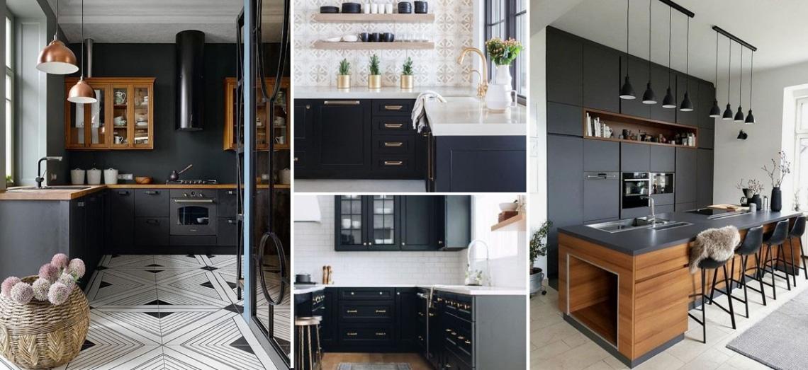 Fekete a konyhában? Meglepően jól működik a szokatlan trend