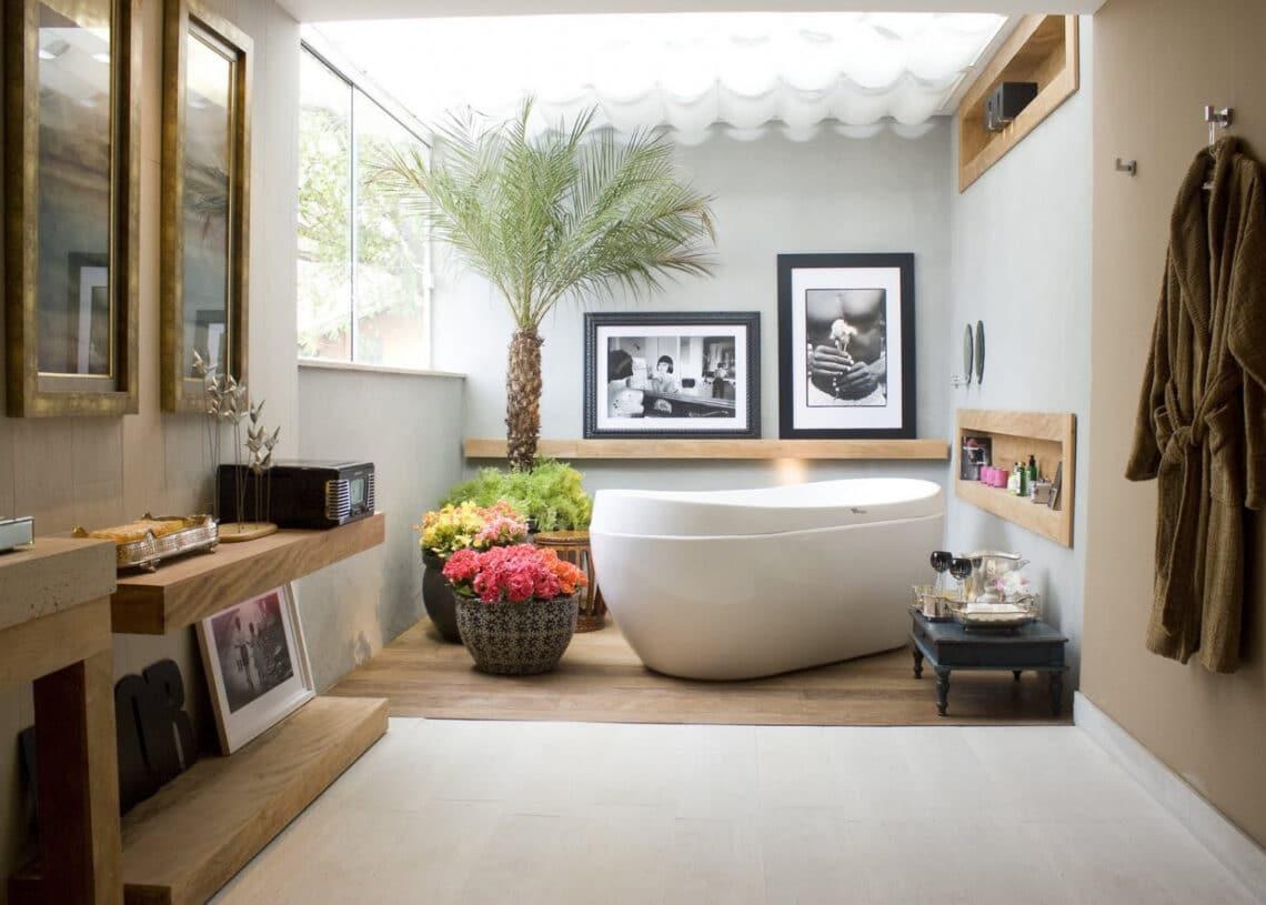 Felejtsd el a szürke csempét! Életteli fürdőszoba trendek