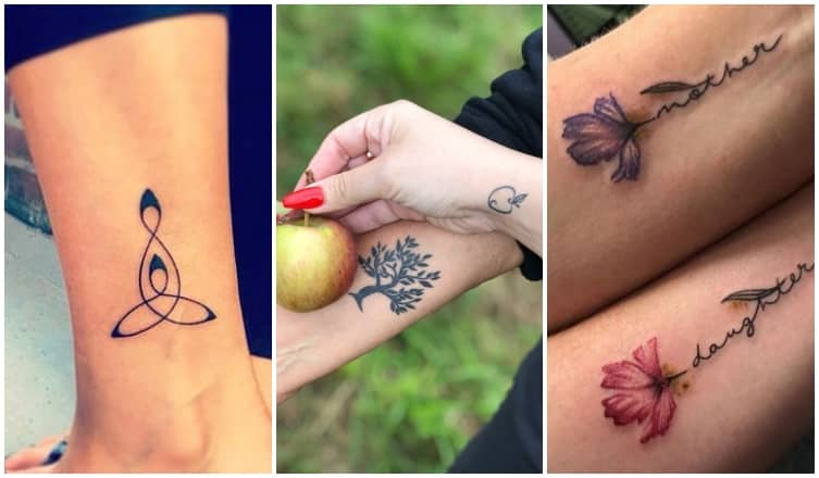 Gyönyörű anya-lánya tetoválások, amik még jobban összekötnek