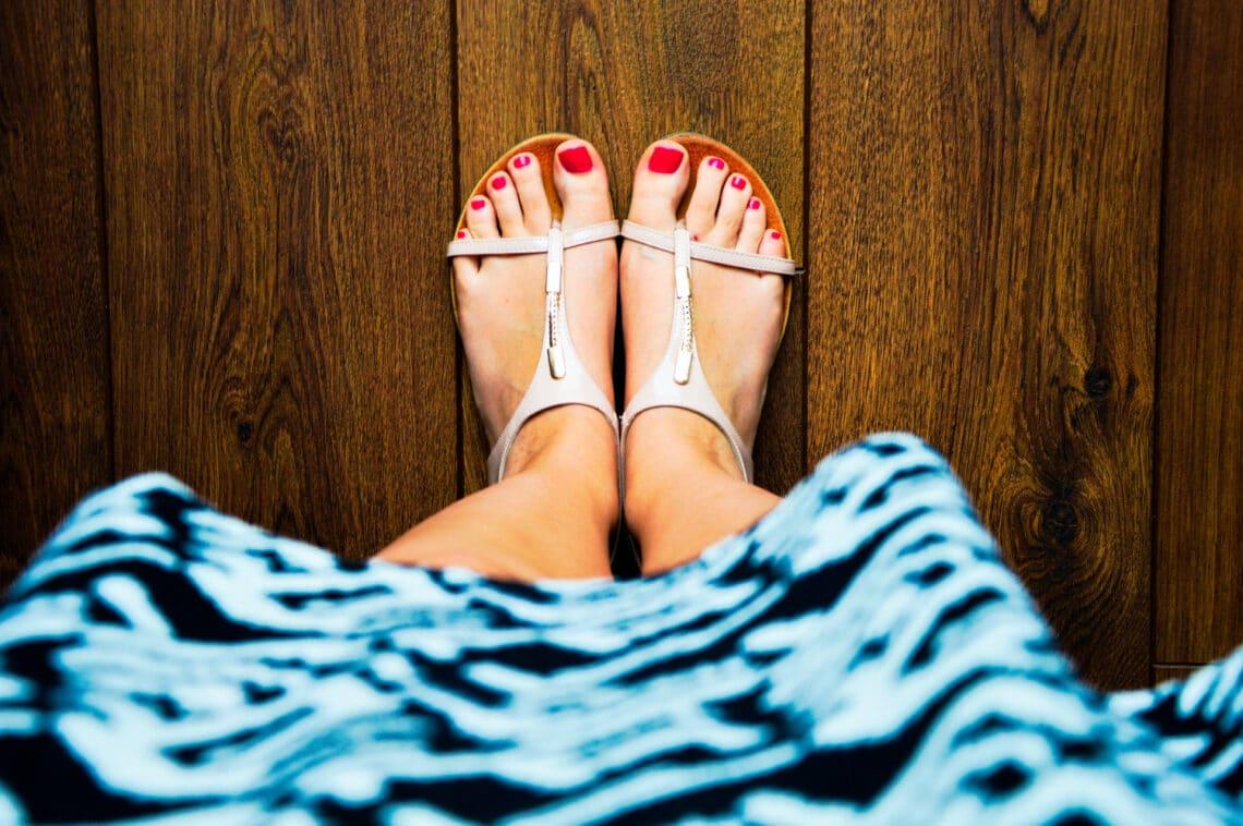Házi praktikák a kellemetlen lábszag ellen