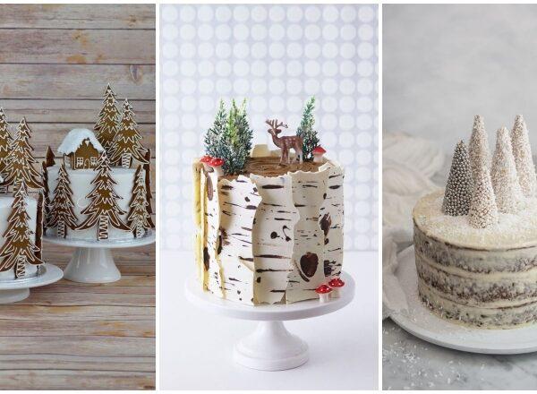 7 káprázatos tortadekoráció karácsonyra