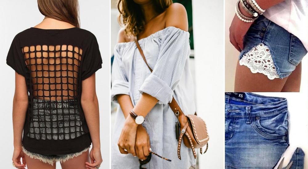 Ollót a kézbe! Itt az 5 legjobb nyári ruhamentő ötlet