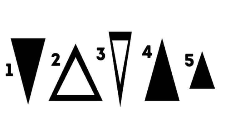 Válassz egy háromszöget, és ismerd meg jobban magad: vajon mi a legfontosabb számodra az életedben?