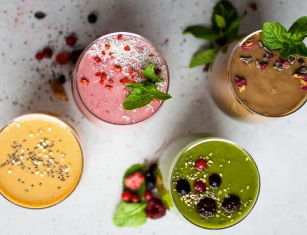 Immunerősítő vegán italok, amik kellő energiával töltenek fel az őszre