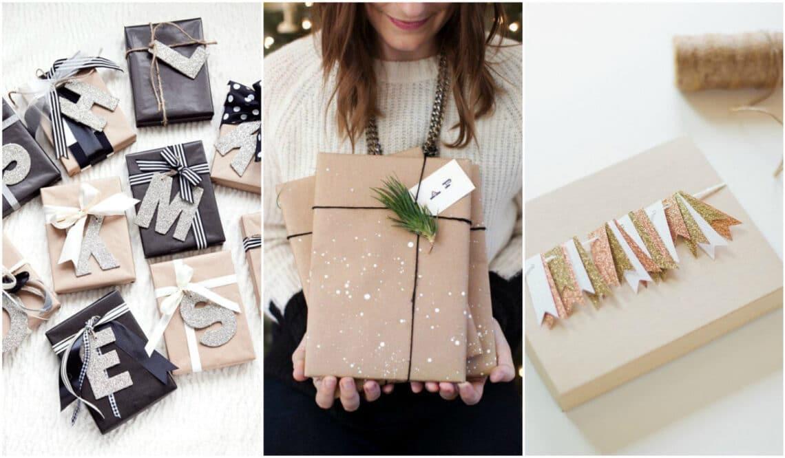 10 ötletes csomagolási technika karácsonyi ajándékokhoz