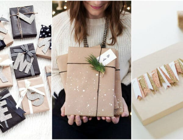 9 ötletes csomagolási technika karácsonyi ajándékokhoz