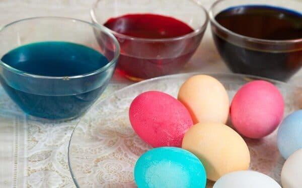 10 biztonsági tipp a tojásfestéshez