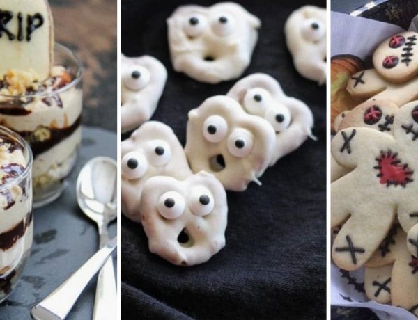 10 halloween parti falatka, amitől kitör a frász