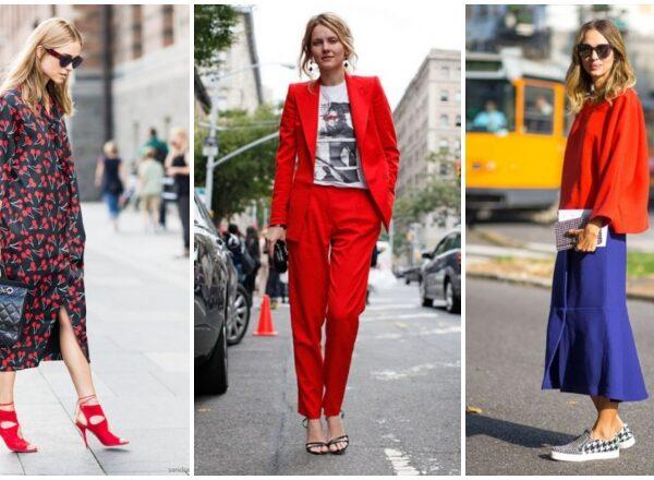10 inspiráló outfit a meleg hónapok slágerszínével, a fiesta pirossal