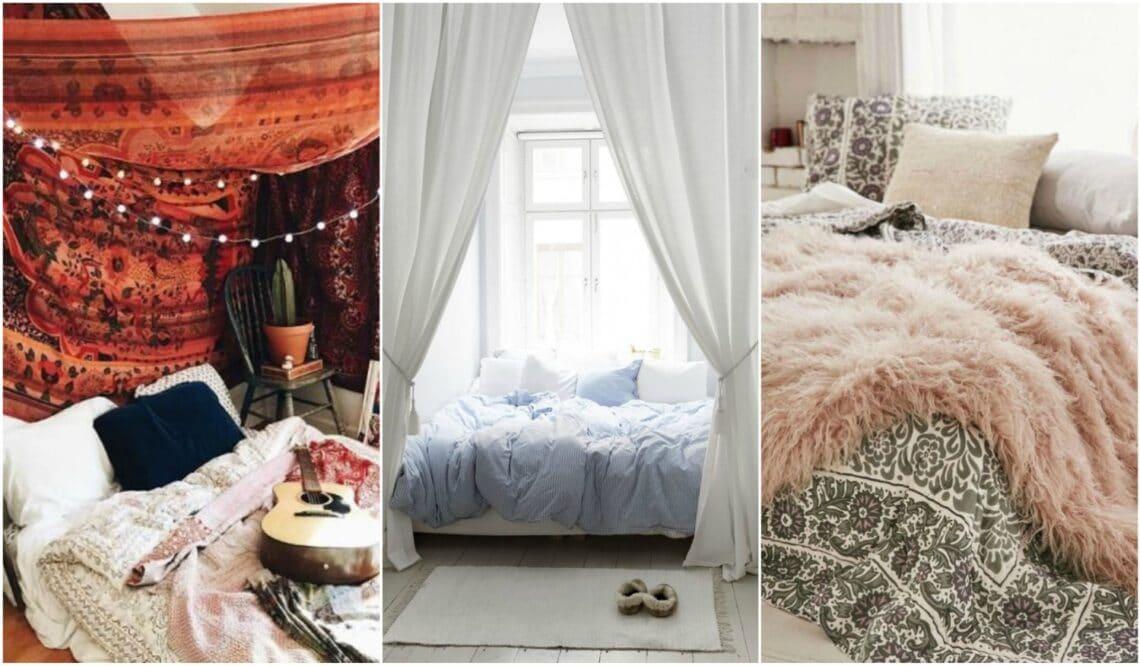 10 látványos ötlet, hogy még hívogatóbb legyen az ágyad