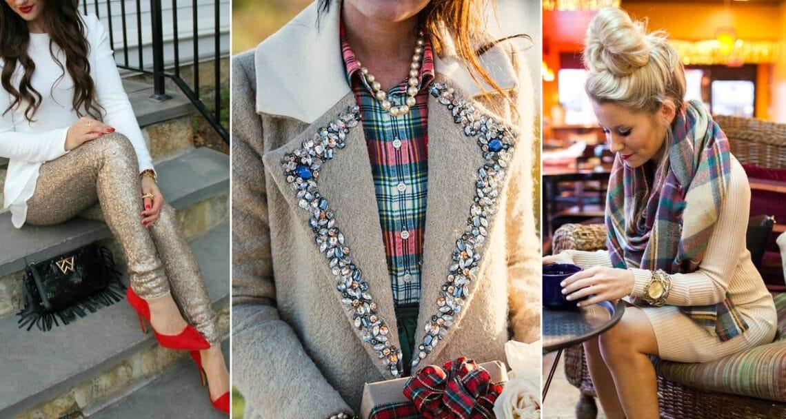 10 nőies karácsonyi outfit, amiben tündökölhetsz