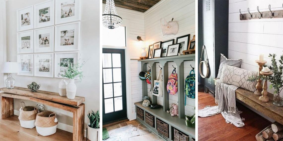 8 stílusos előszoba, amivel minden belépő vendéget lenyűgözöl
