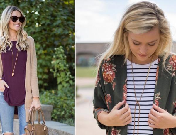 10 stílusos tavaszi outfit kardigánnal