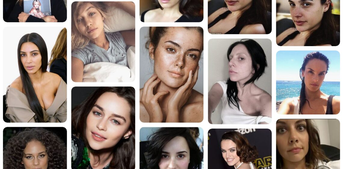 10 sztár, aki nem fél felvállalni arcát smink nélkül