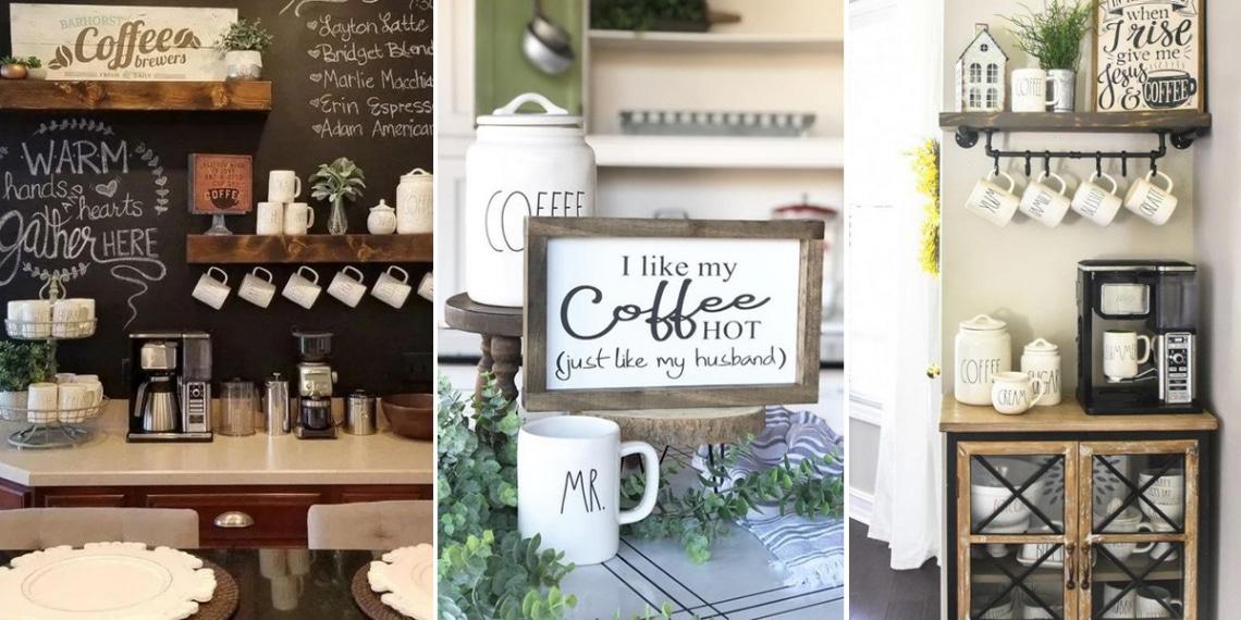 13 imádnivaló otthoni kávéállomás, ha neked is szenvedélyed a kávé