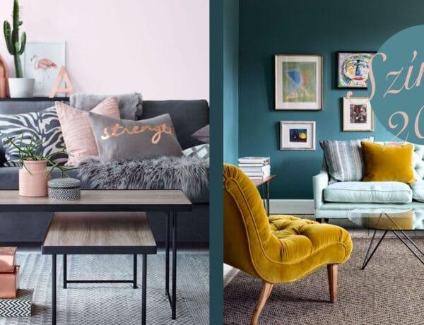 2017 legtrendibb színei a lakásdekorálásban – Mutatjuk, hogy használd őket!